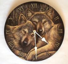 lisa parker wolves clock 11