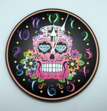 Laura Billinghan Day of the Dead Black Clock 12 inches