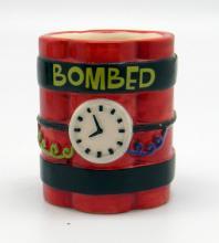 BOMBED SHOT GLASS   holds 3 oz of liquid