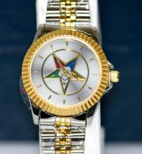 COLLETORS EDITION LADIES MASONIC EASTERN STAR WRIST WAT