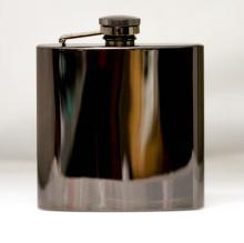 Visol Outlaw Gunmetal Finish Flask - 6 oz