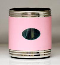 Visol Taza Pink & Stainless Steel Can Holder