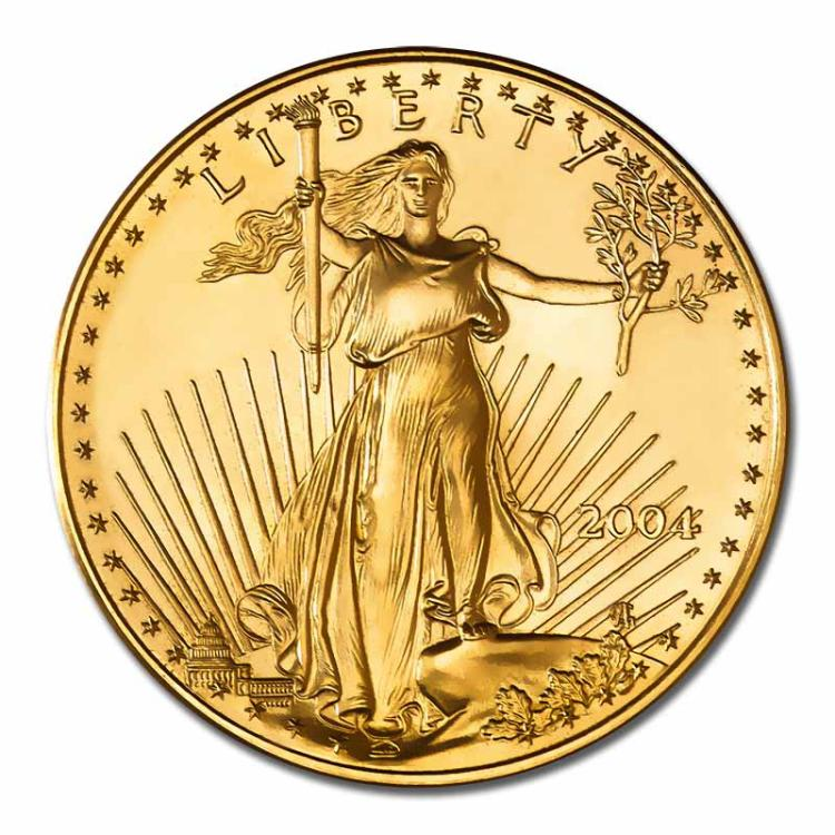 2004 American Gold Eagle 1oz Uncirculated