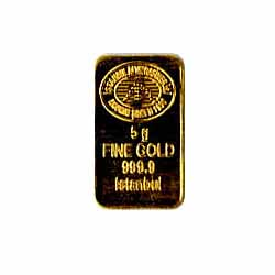 5 Gram Gold Bar - Random Manufacturer