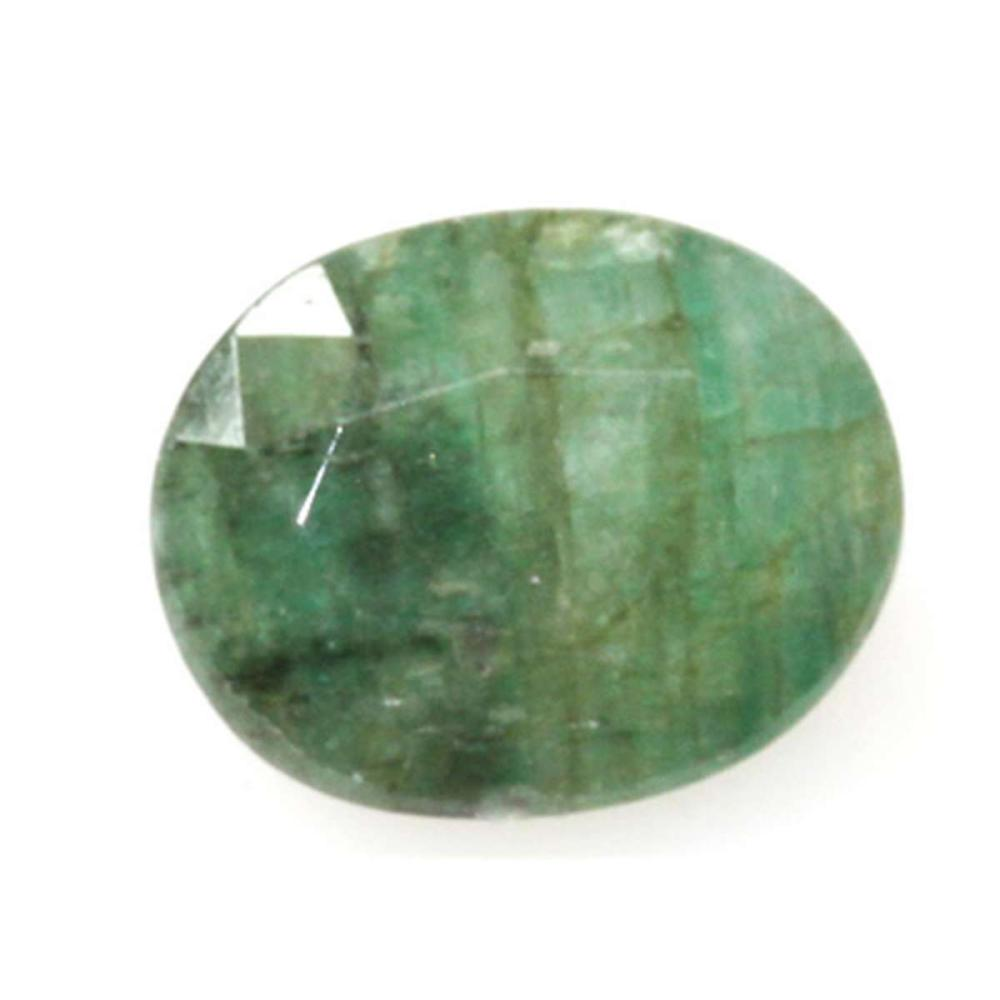 Natural 2.41ctw Emerald Oval Cut Stone