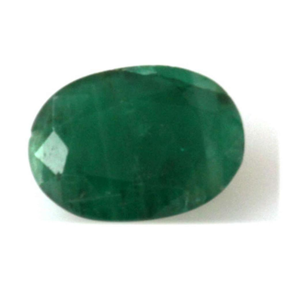 Natural 5.3ctw Emerald Oval Cut Stone
