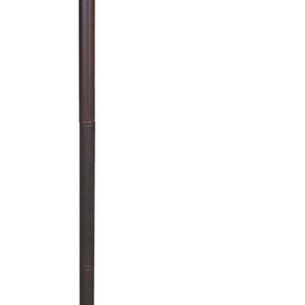 Lot 1103: LIGHTING TIFFANY STYLE TULIPS READING FLOOR LAMP 62 IN