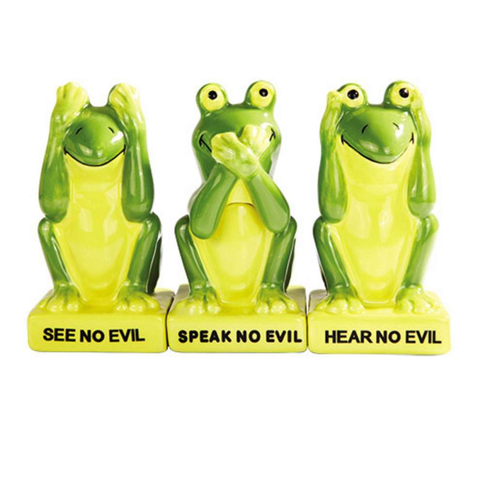 NO EVIL FROGGY SP W/ TOOTHPICK HOLDER