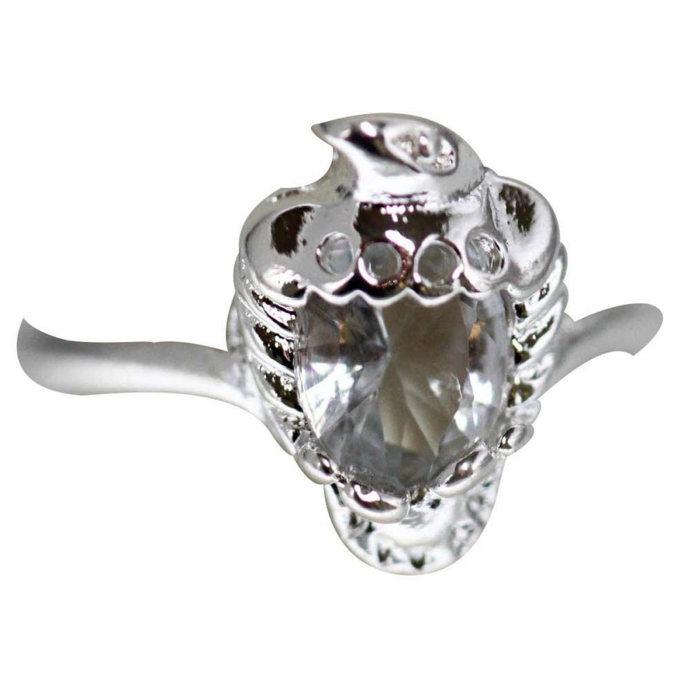 CZ EAGLE .925 STERLING SILVER RING