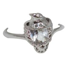 Lot 1191: CZ .925 STERLING SILVER RING
