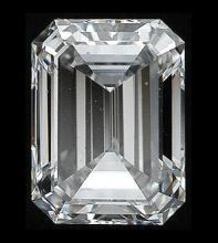 GIA CERTIFIED 1.01 CTW EMERALD DIAMOND J/SI1