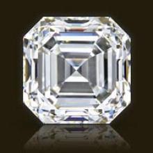 GIA CERTIFIED 1.27 CTW ASSCHER DIAMOND K/VS2