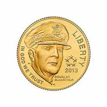 Gold $5 Commemorative 2013 5-Star Generals BU