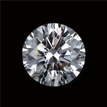 GIA CERT 0.57 CTW ROUND DIAMOND E/VS1