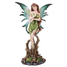 COLD CAST RESIN FOREST FAIRY