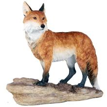 HAND PAINTED COLD CAST RESIN FOX 12