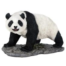 HAND PAINTED COLD CAST RESIN PANDA 6 1/4