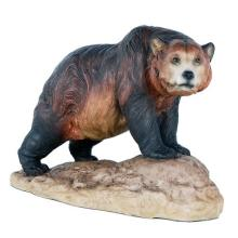 HAND PAINTED COLD CAST RESIN GRIZZLY BEAR 8