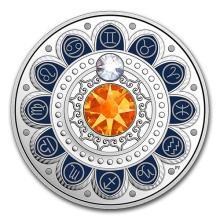2017 Canada 1/4 oz Silver $3 Zodiac Series (Gemini)