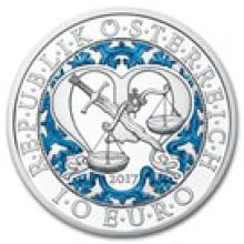 2017 Austria Proof Silver