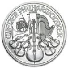 2011 Austria 1 oz Silver Philharmonic BU