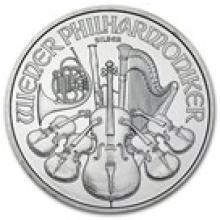 2008 Austria 1 oz Silver Philharmonic BU