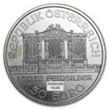 Austria 1 oz Silver Philharmonic (Culls)