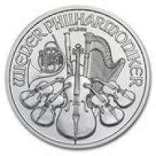 2012 Austria 1 oz Silver Philharmonic BU