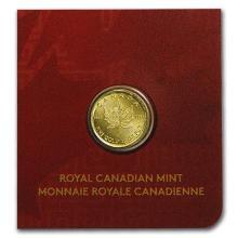 1 gram Gold Maple Leaf - Maplegram 25