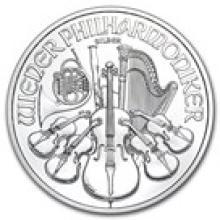 2013 Austria 1 oz Silver Philharmonic BU