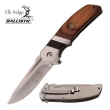 ELK RIDGE SPRING ASSISTED KNIFE 4.9in. CLOSED