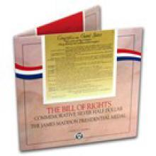 1993 Bill of Rights Coin & Medal Set BU (w/Box & COA)