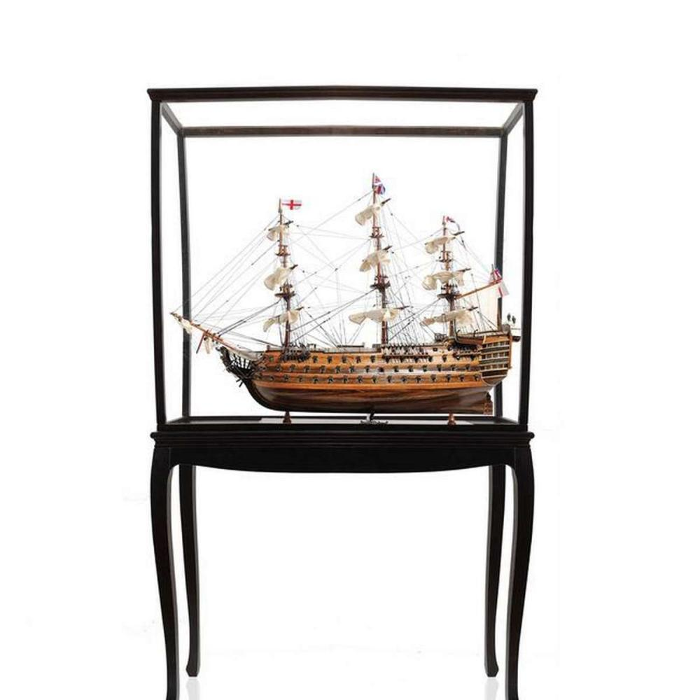 HMS Victory Large With Floor Display Case