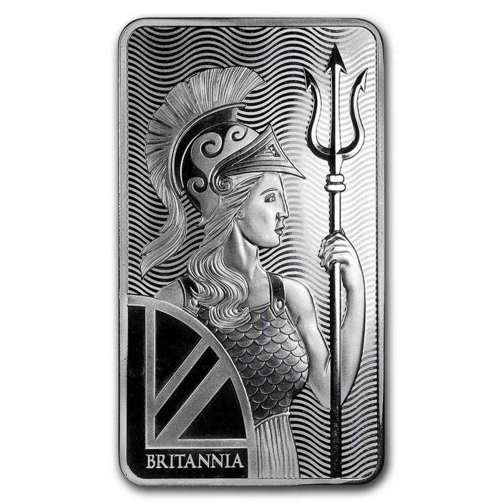 Royal Mint 10 oz Silver Bar - Britannia