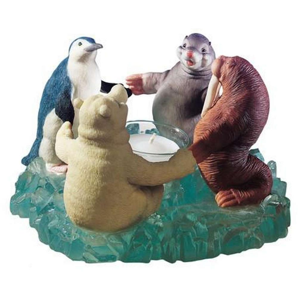 NORTH POLE UNITY CANDLE HOLDER