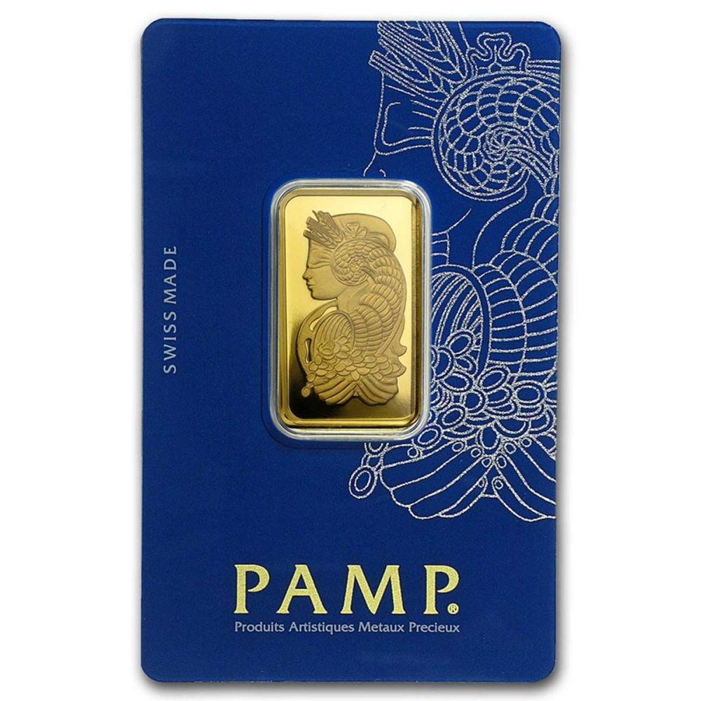 PAMP Suisse 20 Gram Gold Bar - Lady Fortuna