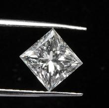 GIA CERT 1.51 CTW PRINCESS DIAMOND I/VS2