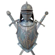 HAND PAINTED COLD CAST RESIN KNIGHT ARMOR