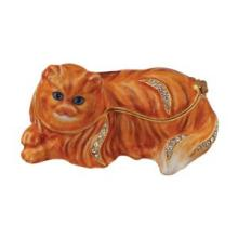 PERSIAN CAT JEWELRY BOX WITH AUSTRIAN CRYSTALS 3