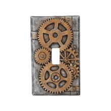 STEAMPUNK LIGHT SWITCH PLATE 2 3/4