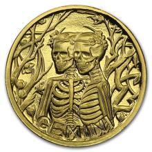 1/10 oz Gold Round Zodiac Series - Gemini