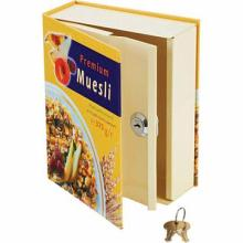 Faux Muesli Cereal Box Safe