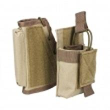 Vism By Ncstar Stock Riser With Mag Pouch/Tan #81475v2
