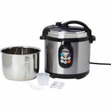 Precise Heat 6.3qt (6L) Electric Pressure Cooker #49334v2