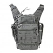 Vism By Ncstar Pvc First Responders Bag/Urban Gray #81432v2