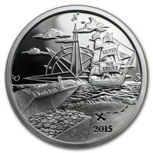 1 oz Silver Round - Finding Silverbug Island (Prooflike)