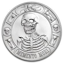 1 oz Silver Round - Memento Mori (BU Finish)