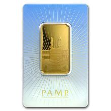 1 oz Gold Bar - PAMP Suisse Religious Series (Ka' Bah, Mecca)