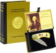 COMMEMORATIVE GEORGE WASHINGTION DISPLAY KNIFE