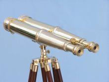 Floor Standing Admiral's Solid Brass Binoculars 62